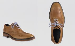 first date cole haan camello chambray shoe