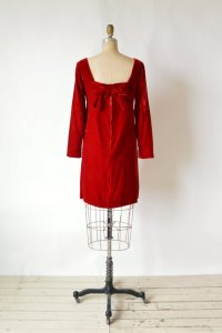 Delena Vintage red vintage shift