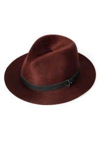 Rag and Bone Marsala Abbott Fedora