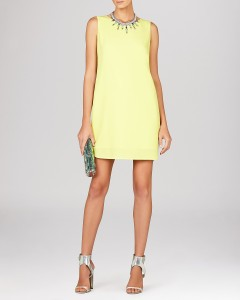 candy coated BCBG Ellie dress