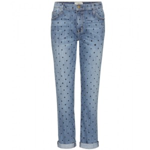 CurrentElliot polka dot fling denim