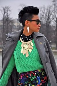 Ester Quek floral skirt