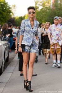 Esther quek suit shorts