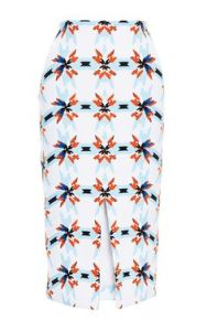 work it Tanya Taylor pencil skirt